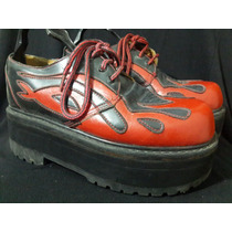 Zapato Plataforma Llamarada Koturno Chalupa
