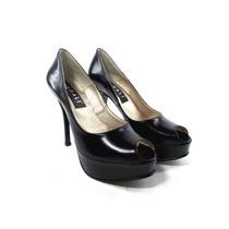 Zapatos Stilettos Mujer Cuero Boca Pez Charol Gamuza Magali