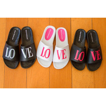 Sandalia Plataforma Mujer - Ojotas Moda Chola Love- Araquina