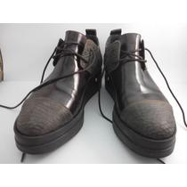 Zapato Acordonado Saverio Di Ricci N37 Nuevo Sin Uso