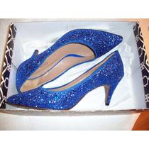 Zapatos Paruolo Gliters Nº38 Nuevos