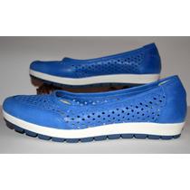 Zapatos Cuero Legítimo Cómodos - Ballerinas Chatitas - Pride