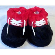 Pantuflas De Peluches Hombre ,mujer Zapatones