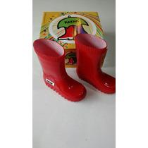 Botas De Lluvia,goma Niños/niñas,chico Kayak,calidad Premium