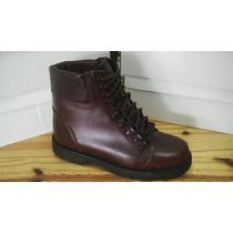 Borceguies De Hombre De Cuero (zapatos)