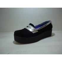 Gondola Guillermina Zapato Dama Mujer Plataforma