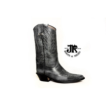Botas Texanas - Jr Boots & Shoes - Art. 6040 Cl Gris