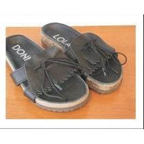 Zapatos De Mujer - Chata De Cuero Tipo Birken