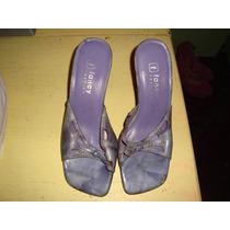 Zapatos Sandalias Taco Alto