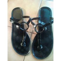 Ojotas ,sandalias De Pvc En Negro T39/40 Avon Fashion