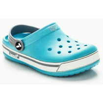 Crocs Harenna,banda Blanca 100% Original Por Mayor
