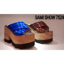 Zapato De Mujer Base De Madera Y Goma Barato 2016 Envio