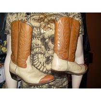 Botas Cuero Texanas Acme Y Tony Lama