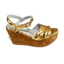 Sandalias Plataformas Num 41 42 43 44marca Zinderella Shoes