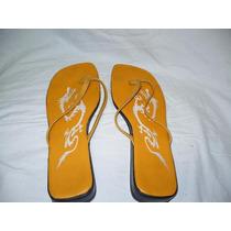 Sandalias Tipo Ojotas Amarillas Nº39 Muy Comodas