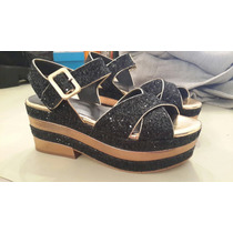 Zapatos Sandalias Fiesta Paruolo T 38 Impecables. 1 Uso!!!