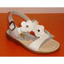 Sandalias Para Nenas Con Flores!!!! A $150