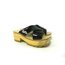 Zapatos Zuecos Mujer Madera Magali Shoes