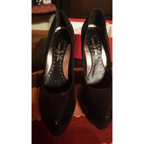 Zapatos Dama Cuero Saverio Di Ricci Negros