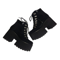 Botas Mujer Zapatillas Cuero Vacuno Zapatos Paradisea