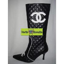 Botas Caña Alta Color Negro Talle 37 Nuevas!!!!