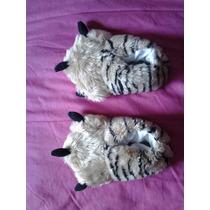 Pantuflas A Estrenar!!! Infantiles Garra (tiger). Talle 29