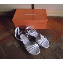 Zapatos Mujer N39 Cuero Nuevos Sin Uso Color Rosa Palido
