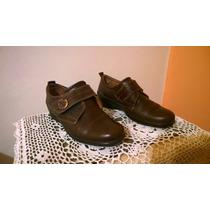 Zapatos De Cuero. Dama. Cavatini. N° 37 Impecables