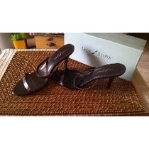 Lady Stork Zapatos Sandalias De Fiesta Impecables!!! N 38