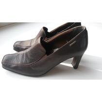 Zapatos De Taco Alto. Lady Stork