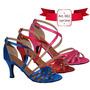 Zapatos De Baile Salsa - Bachata - Ballroom - Danza Latina