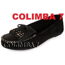 ¡¡ Viamo Mocasin Chatitas Zapato 100% Cuero Nueva N°37