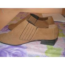 Botas/zapatos De Gamuza Liquidacion
