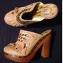 Zapatos C Tacones Altos Sofia Kara T38, Muy Lindas!
