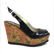 Sandalias C/ Plataforma Zapatos Primavera/verano Ultima Moda