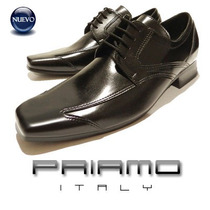 $ Oferta ! Zapatos P Cuadrada Hombre Priamo Italy [pr000846]