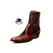Botas Texanas - Jr Boots & Shoes - Art. 6046 Cl Bordo
