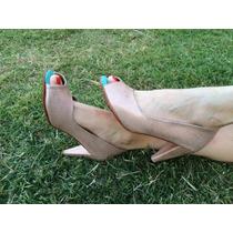 Zapatos Artesanales De Cuero La Mora - Modelo Juliette