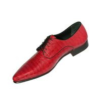 Zapato De Croco Italiano Máximo Vallejos
