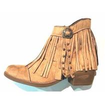 Botas Texanas Con Flecos - Aruba Shoes