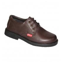 Zapatos Mocasines Escolares Colegial Marron Marcel 27 Al 33