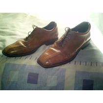 Zapatos De Cuero Marron Para Hombre Talle 45 Marca Storkman