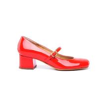 Zapato Tipo Guillermina Charol Rojo #331 - Natacha Fw16