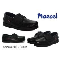 Escolar Marcel - Nautico Art. 500 - Cuero 27 Al 33