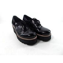 Zapatos Zuecos Goma Mocasin Cuero Charol Mujer Magali Shoes