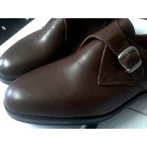 Zapatos De Vestir Hebilla Y Cuero Skodon