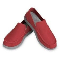 Crocs Santa Cruz Men True Red - Light Grey Envios Todo Pais