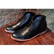 Zapatos Y Botitas Artesanales 100% Cuero Vacuno Hombre