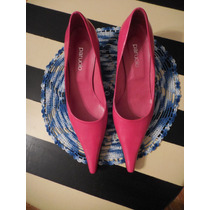 Zapatos Paruolo Rosa Chicle Talle 39/40