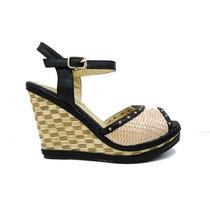 Sandalias C/ Plataforma Zapatos Chocolate - Ultima Moda